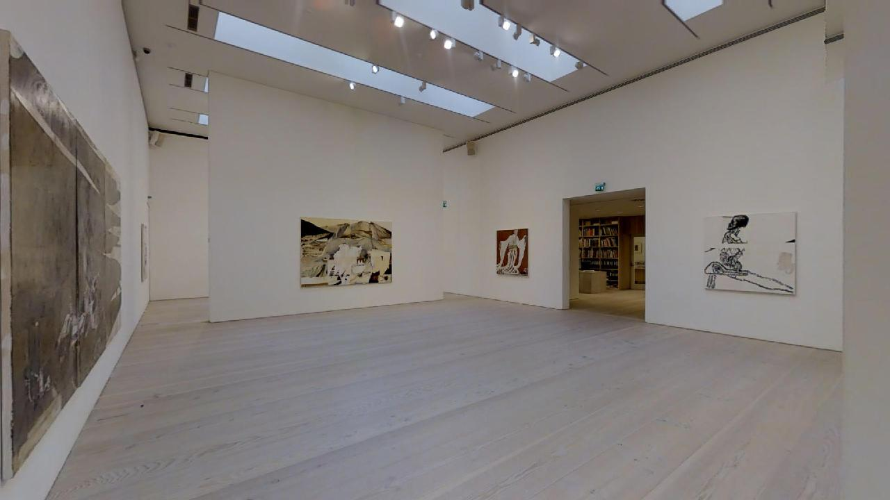 Galerie-Forsblom-Reima-Nevalainen-Center-Hall